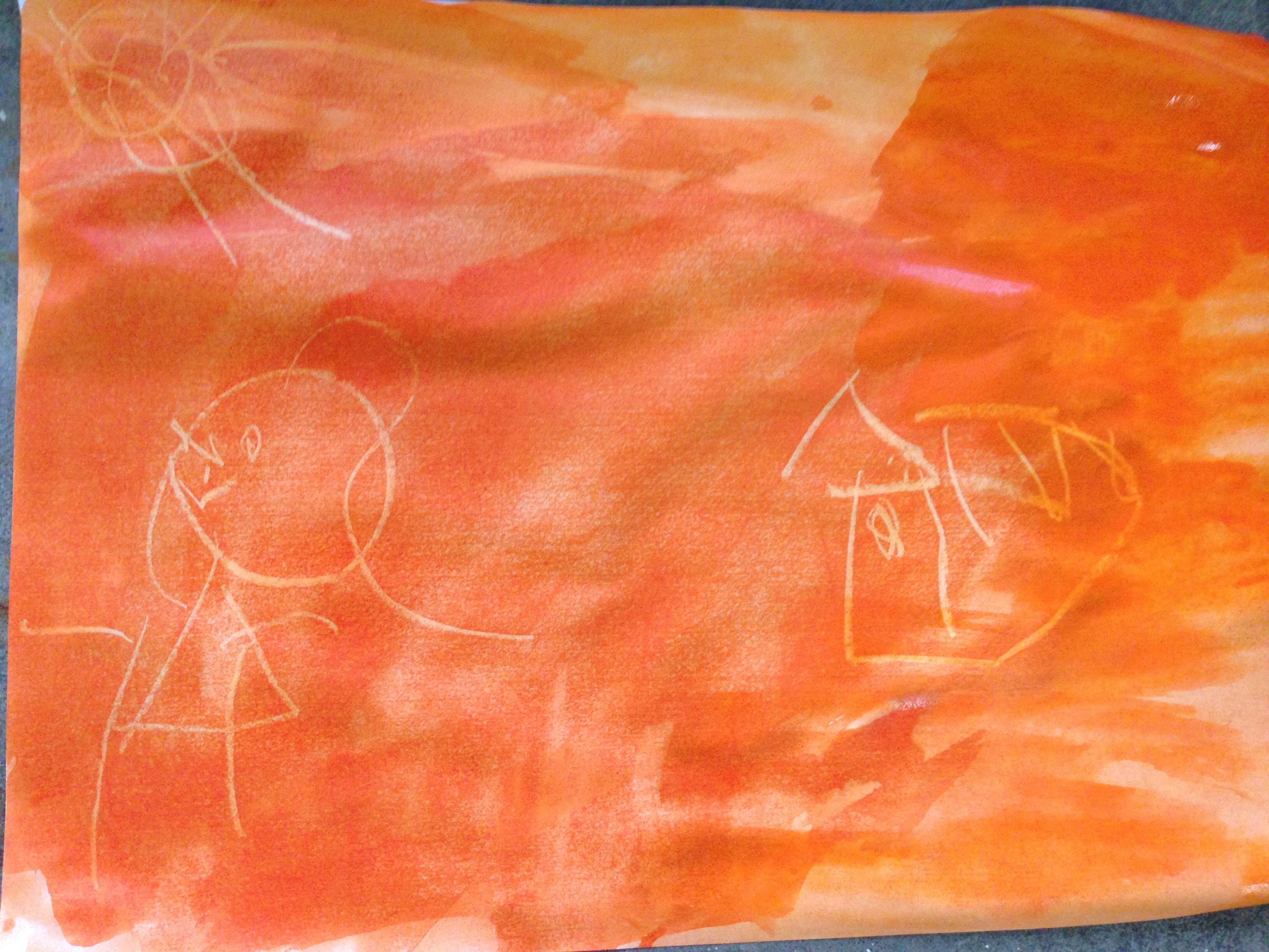Atividade Desenho Invisivel Mamae Na Escola